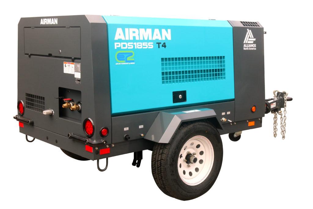 Premier Equipment Rentals Airman PDS185 Compressor