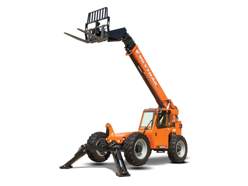 Premier Equipment Rentals JLG SkyTrack Fork Lift