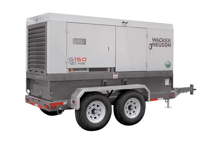 Premier Equipment Rentals Wacker Neuson G150 Generator